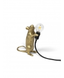 Mouse Lamp Gold / Step - Standing