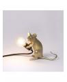 Mouse Lamp Gold / Mac