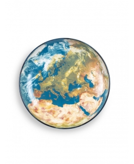 Cosmic Diner Earth Europe Tray - Seletti