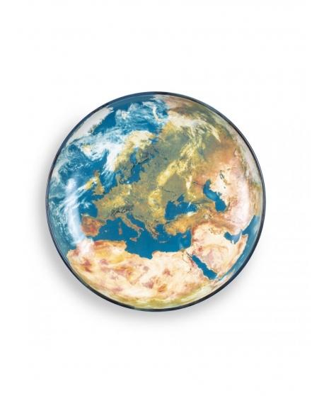 Cosmic Diner Earth Europe Tray - Seletti