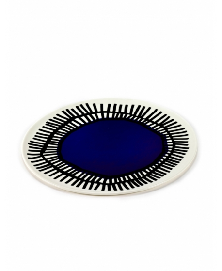 Plate Blue Table Nomade - Serax