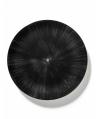 Plate Dé off-white/black VAR 6 - Serax
