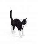 Cat Lamp - Jobby Black & White