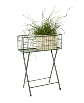 PLANTER GRID ARMY GREEN