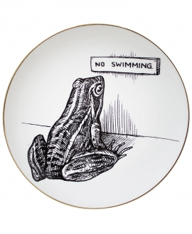 NO SWIMMING PLATE