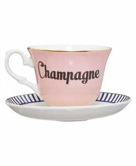 Champagne teacup