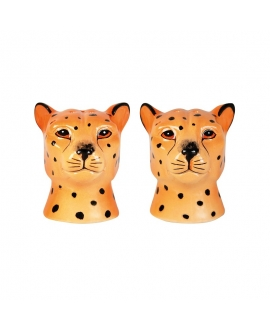 Leopard salt & pepper