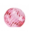 Glass sphere pink