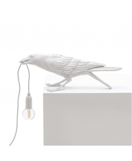 Bird Lamp White Playing - Seletti