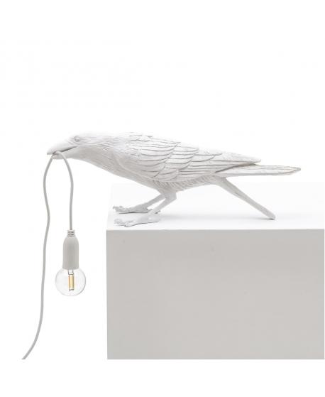 Bird Lamp White Playing - Seletti
