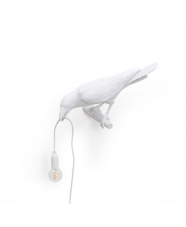 Bird Lamp White Waiting - Seletti