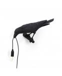 Bird Lamp Black Looking - Seletti