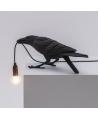 Bird Lamp Black Playing - Seletti