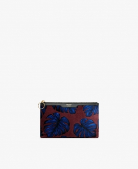 WOUF - Leaves Velvet Night Clutch Bag S