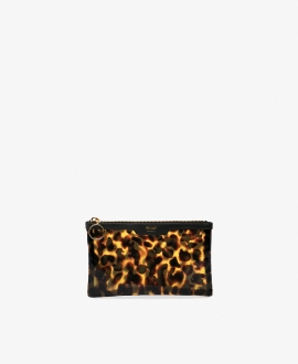 WOUF - Carey Vinyl Pocket Clutch Bag