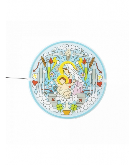 Gospel LED Neon Sings, Virgin Mary - Seletti