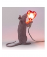 Mouse Lamp Love Edition - Sitting