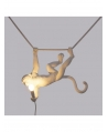 Monkey Lamp Swing White - Seletti
