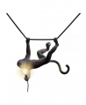 Monkey Lamp Swing Black - Seletti