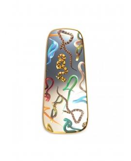 Mirror Gold Frame Snakes - Seletti