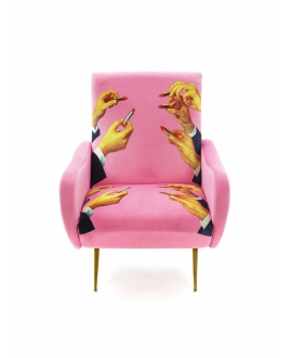 Armchair Lipsticks Pink - Seletti