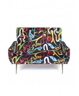 Two seater sofa Snakes - Seletti