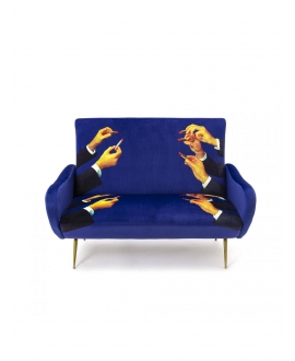 Sofa two seater Lipsticks - Seletti