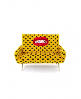 Sofa two seater Shit - Seletti