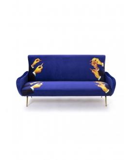 Sofa three seater Lipsticks - Seletti