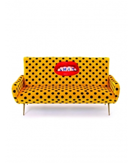 Sofa three seater Shit - Seletti