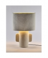 TABLE LAMP WHITE EARTH