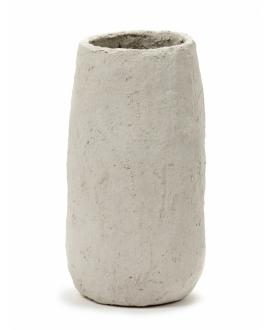 Pot Marie Paper Mache - Beige D18H18