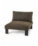 Bench One Seater INDOOR Bea Mombaers - Serax