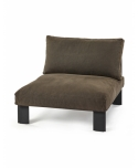 Bench One Seater OUTDOOR Bea Mombaers - Serax