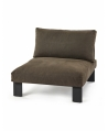 Bench One Seater - Umber Outdoor