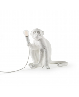 Monkey Sitting Lamp Indoor - Seletti