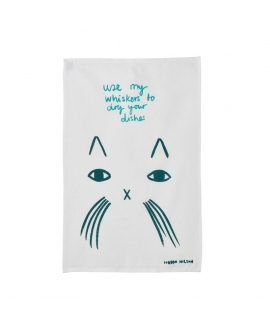 Donna Wilson - Use My Whiskers Tea Towel