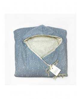 Baby Shower - Blue Star Fleece Angel Nest