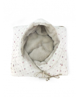Baby Shower - Vintage Bloom Fleece Angel Nest