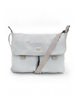 Baby Shower - Grey Canvas Stroller Bag